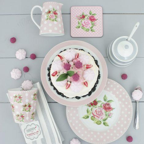 Krasilnikoff Milchkännchen Dots n' Roses