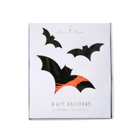 Meri Meri Folienballons Fledermaus 3er-Set