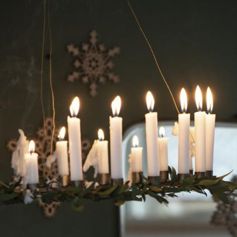 IB LAURSEN Kerzenhalter für 24 schmale Kerzen