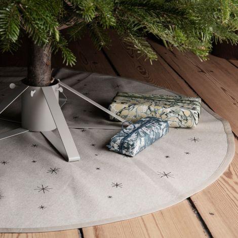 ferm LIVING Decke Weihnachtsbaum Star Christmas Sand