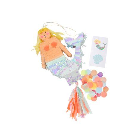 Meri Meri kleine Pinata Meerjungfrau mit Füllmaterial