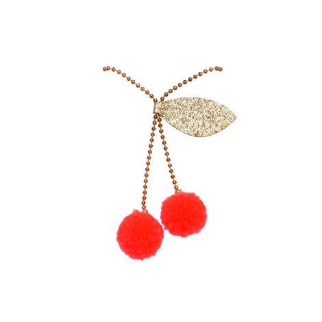 Meri Meri Halskette Cherry Pompom