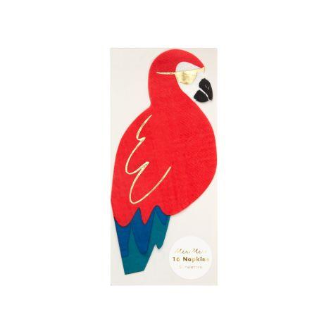 Meri Meri Papierserviette Pirate Parrot 16 Stk. •