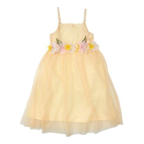 Meri Meri Kleid für Kinder mit Stoffblüten