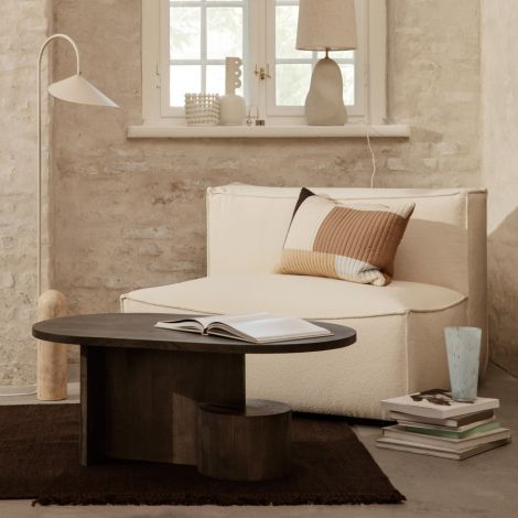 ferm LIVING Teppich Kelim Medium Dark Melange 200 x 140