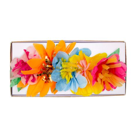 Meri Meri Party-Kronen Bright Blossom