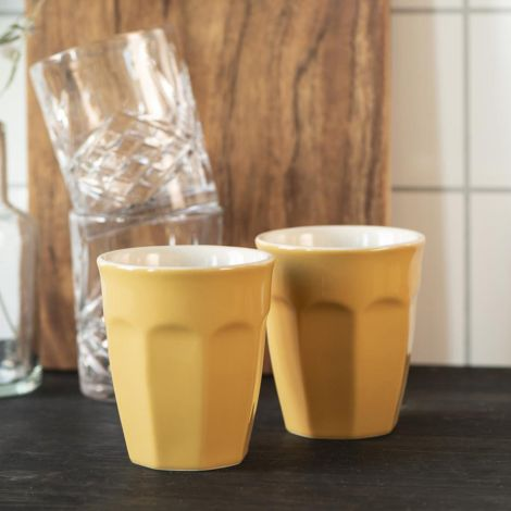 IB LAURSEN Latte-Becher Mynte Mustard