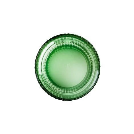 Lyngby Vase Copenhagen Green mundgeblasenes Glas 31 cm