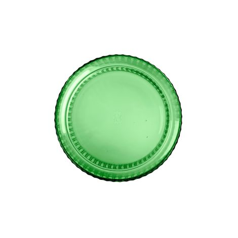 Lyngby Vase Copenhagen Green mundgeblasenes Glas 38 cm