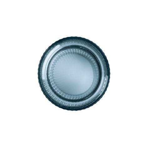 Lyngby Vase Midnight Blue mundgeblasenes Glas 31 cm