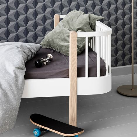 Oliver Furniture Einzelbett Wood Eiche
