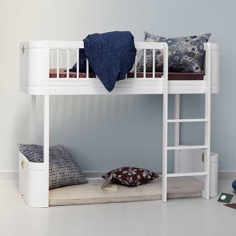 Oliver Furniture Spielmatratze für Wood Mini+ halbhohes Hochbett 68x162 cm