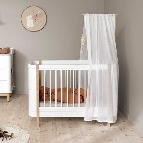 Oliver Furniture Betthimmel für Wood Mini+ Basic Weiß