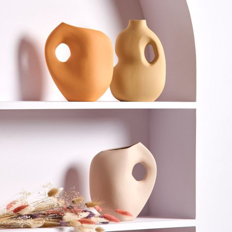 Schneid Studio Aura Vase II Senf