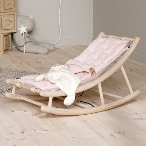 Oliver Furniture Baby- & Kleinkindwippe Wood Eiche/Rosa