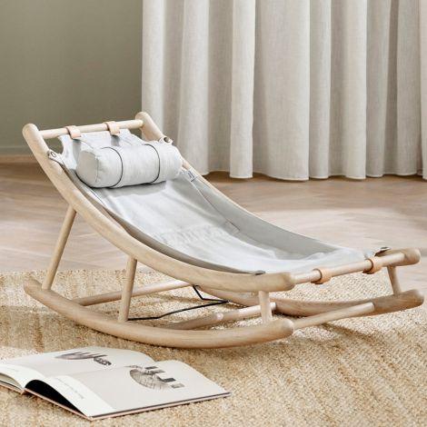 Oliver Furniture Extra Kleinkindsitz für Wood Baby- & Kleinkindwippe Grau