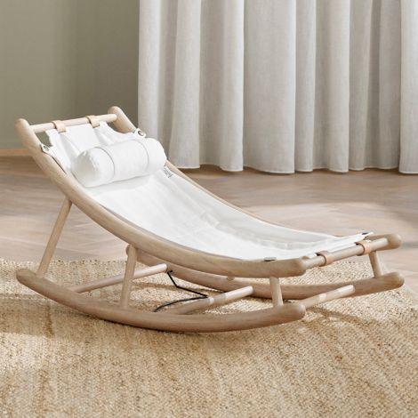 Oliver Furniture Kleinkindwippe Wood Eiche/Weiß