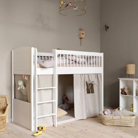 Oliver Furniture Spielmatratze Lille+ halbhohes Hochbett 168 cm