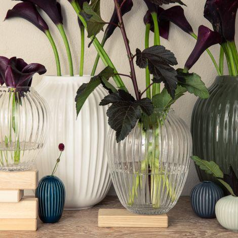 Kähler Design Hammershøi Vase 21 cm dunkelgrün