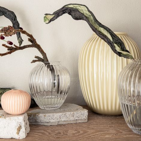 Kähler Design Hammershøi Miniatur Vasen rosa 3-teilig