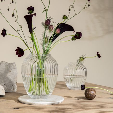 Kähler Design Hammershøi Vase 15 cm klar