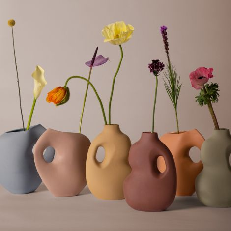 Schneid Studio Aura Vase I Powder Blue