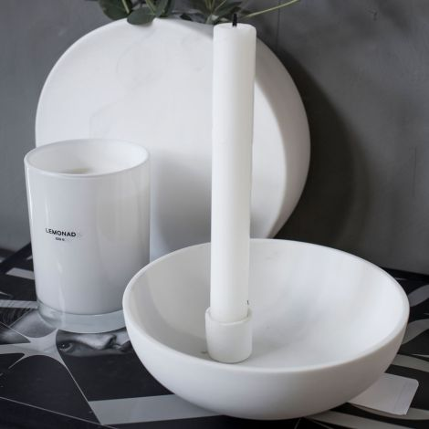 Storefactory Kerzenhalter Lidatorp White
