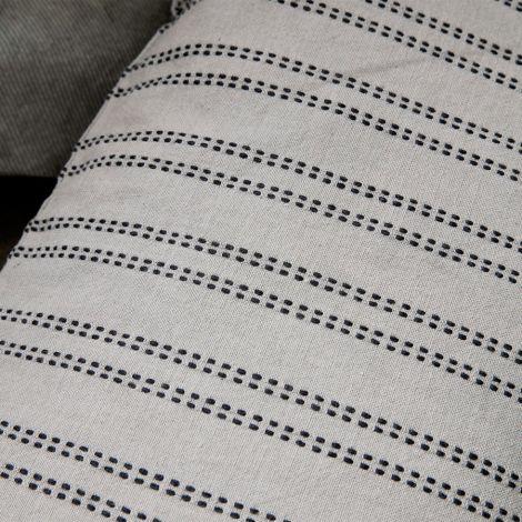 House Doctor Kissenbezug Additional Grau 50 x 30 cm
