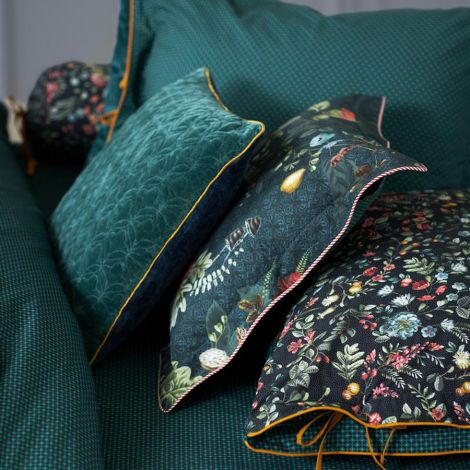 PIP Studio Zierkissen Midnight Garden Green 35x60