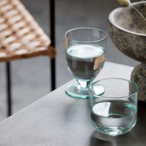 House Doctor Wasserglas Ganz Grün