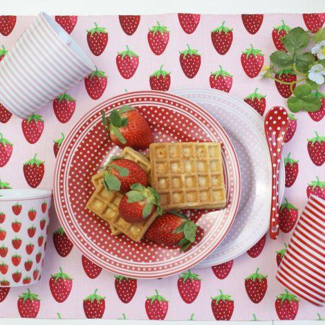 Krasilnikoff Platzset Strawberry Pink