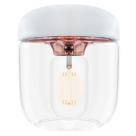 UMAGE - VITA copenhagen Deckenlampe Acorn White Copper 2er-Set mit Aufhängung