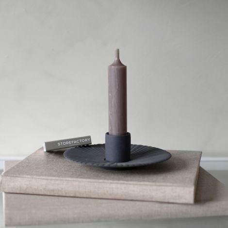 Storefactory Kerzenhalter Holmby Dark Grey Small