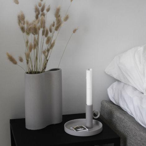 Storefactory Kerzenhalter Linde Light Grey