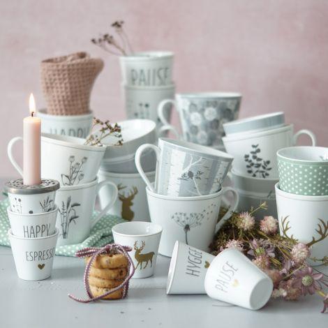 Krasilnikoff Tasse Happy Cup Dandelion