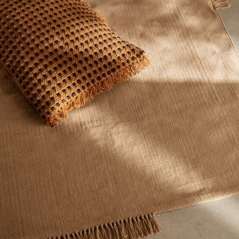 ferm LIVING Teppich Hem Medium Sand 200 x 140cm