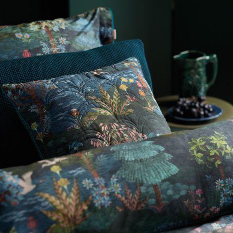 PIP Studio Zierkissen Pip Garden Quilted Dark Blue 45x70