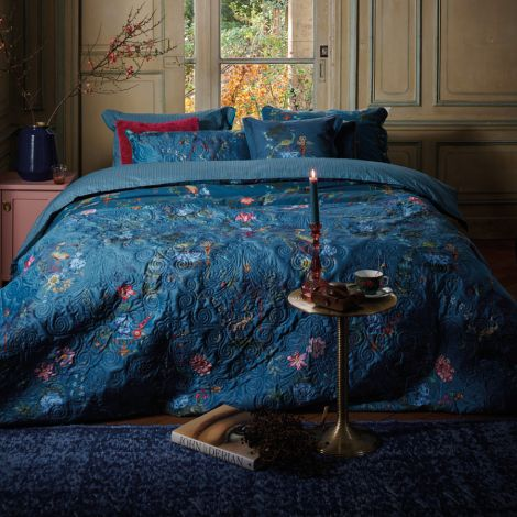 PIP Studio Tagesdecke Quilt Chinese Porcelain Blue 220x260