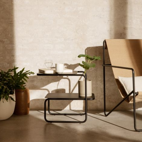 ferm LIVING Beistelltisch Level Black