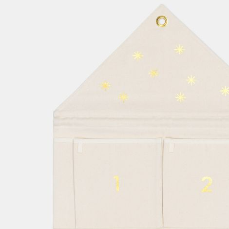 ferm LIVING Adventskalender House Off-White