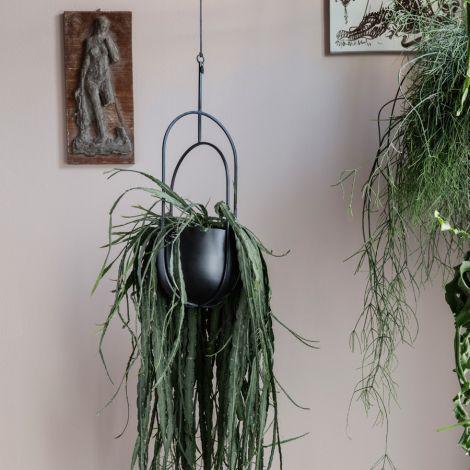 ferm LIVING Deko-Aufbewahrung Pot Black •