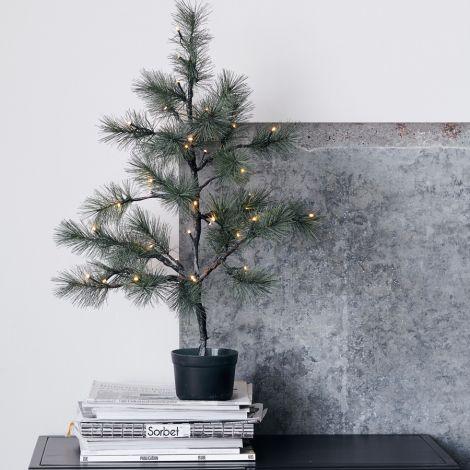 House Doctor Weihnachtsbaum mit Beleuchtung 40 Lichter