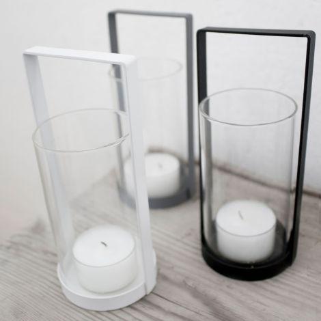 Storefactory Kerzenhalter Kvarnvik White Medium