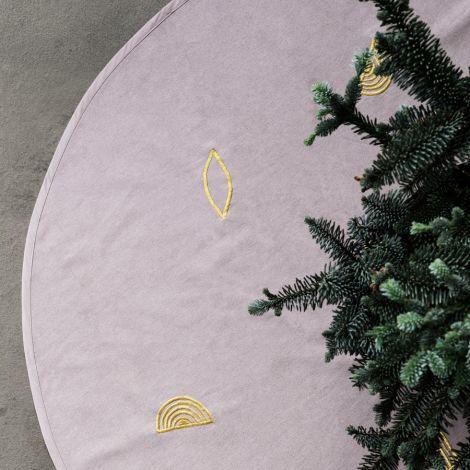ferm LIVING Decke Weihnachtsbaum Rose