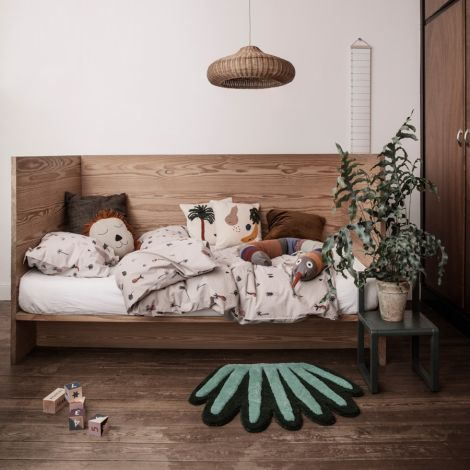 ferm LIVING Teppich/Wanddekoration Coral Multi