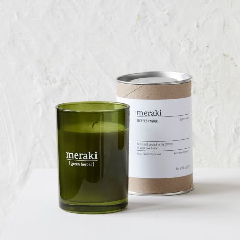 Meraki Duftkerze Green Herbal