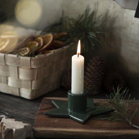 IB LAURSEN Kerzenhalter für Stabkerze Stern Grün