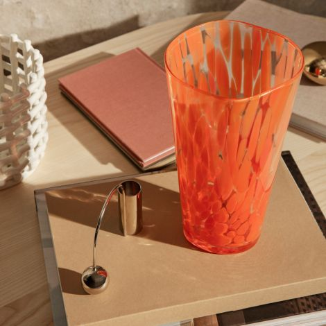 ferm LIVING Vase Casca Poppy red