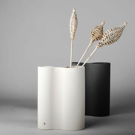 Storefactory Vase Bunn White Keramik