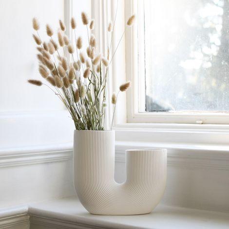 Storefactory Vase Stråvalla Keramik White